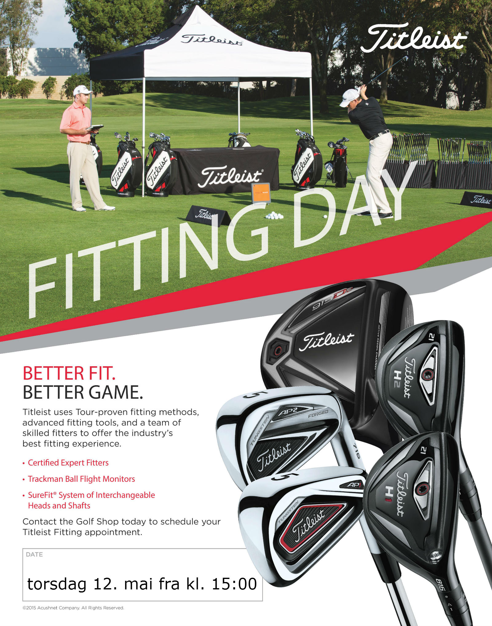 Titleist demodag